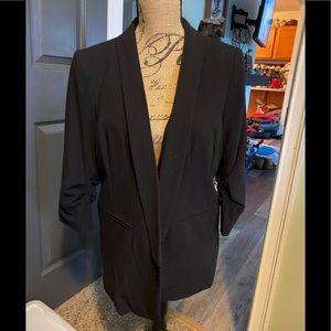 Black lined jacket